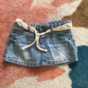 Zara mini skirt size 9-12 M